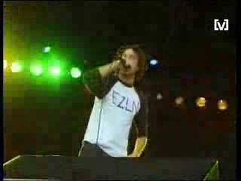 RAGE AGAINST THE MACHINE - BOMBTRACK LIVE