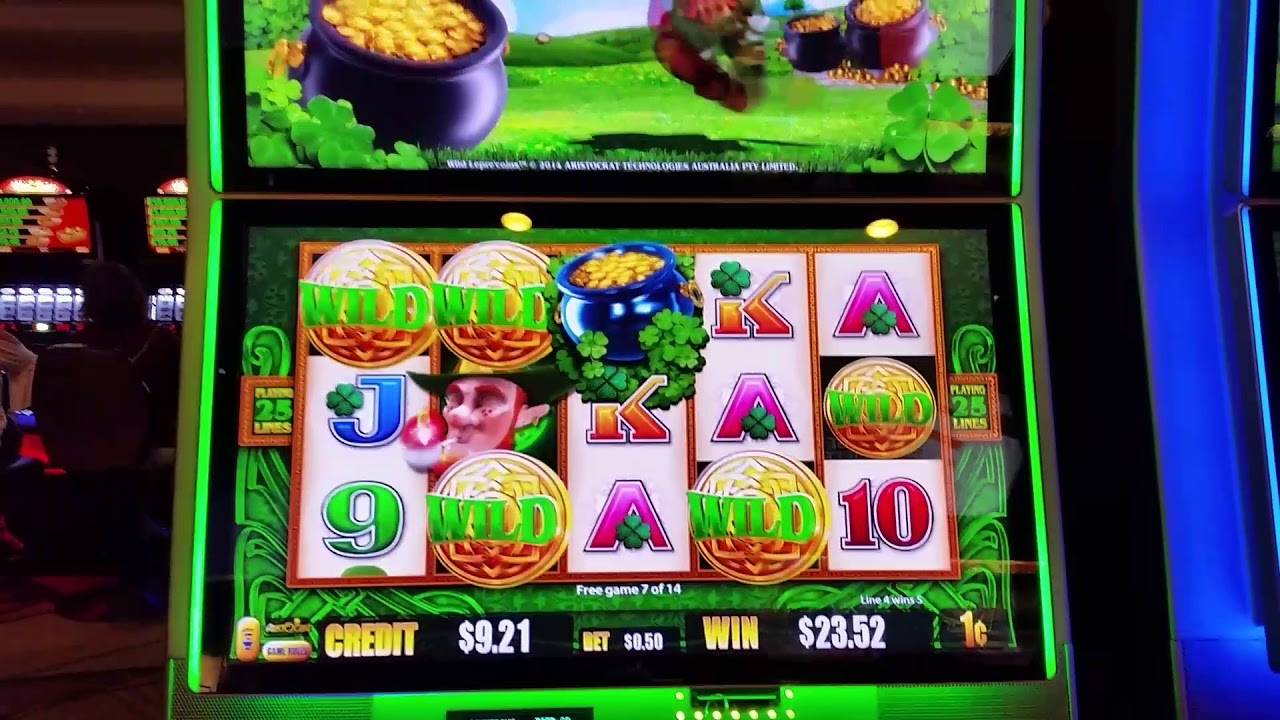 Leprechaun Slot Machine
