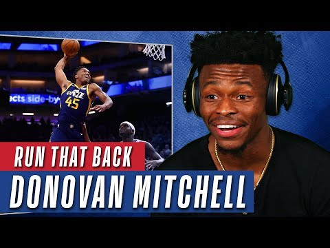 YouTubers React to Donovan Mitchell Rookie NBA Highlights