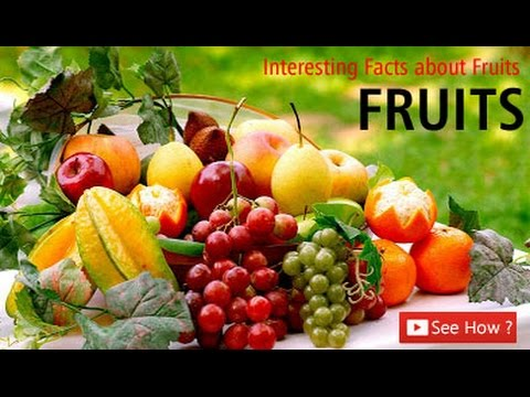 Did You Know Fruit Facts Interesting About Fruits