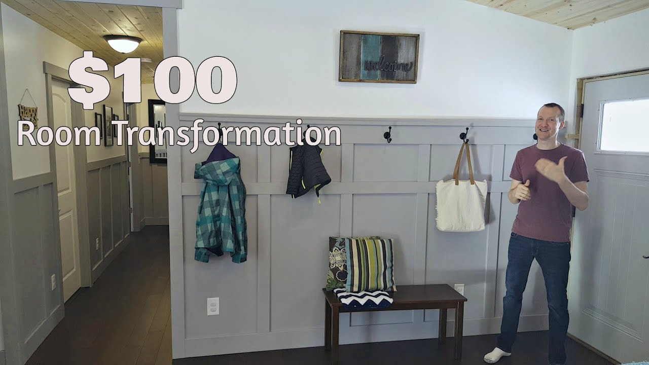 Transform A Room With Board And Batten Wainscoting Youtube