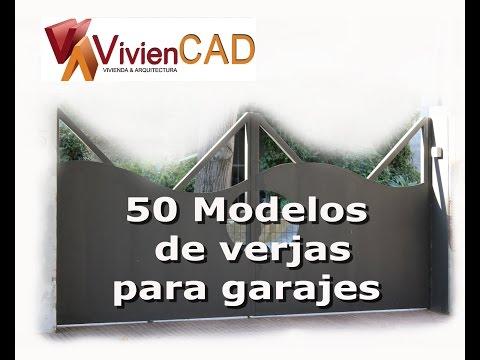 50 modelos de verjas para garajes