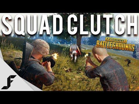 SQUAD CLUTCH - Battlegrounds