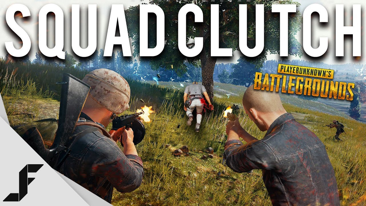 Squad Clutch Battlegrounds Youtube