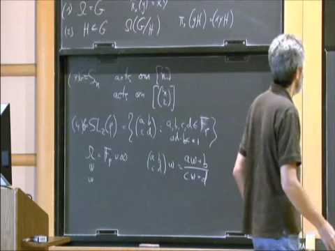 Representation Theory and Expansion in Groups I - Avi Wigderson