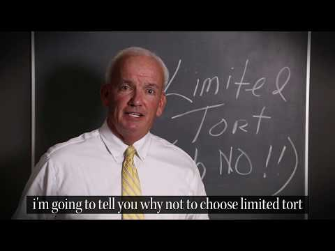 Limited Tort Auto Insurance - Never A Good Choice! | Attorney Joe Price from DLP