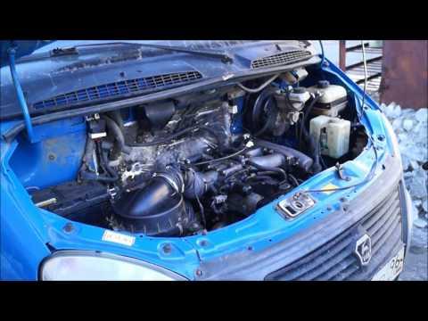 Установка двигателя 2JZ GE АКПП в Газель Бизнес