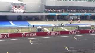 Airtel F1 Indian Grand Prix 2012  (FIA) HQ sound
