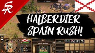 Spanish Halberdier Rush! | Strategy School | Age of Empires III
