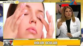 Dolor de cabeza severo en la cuenca del ojo