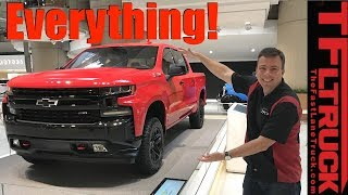 2019 Chevy Silverado Inside and Out Deep Dive!