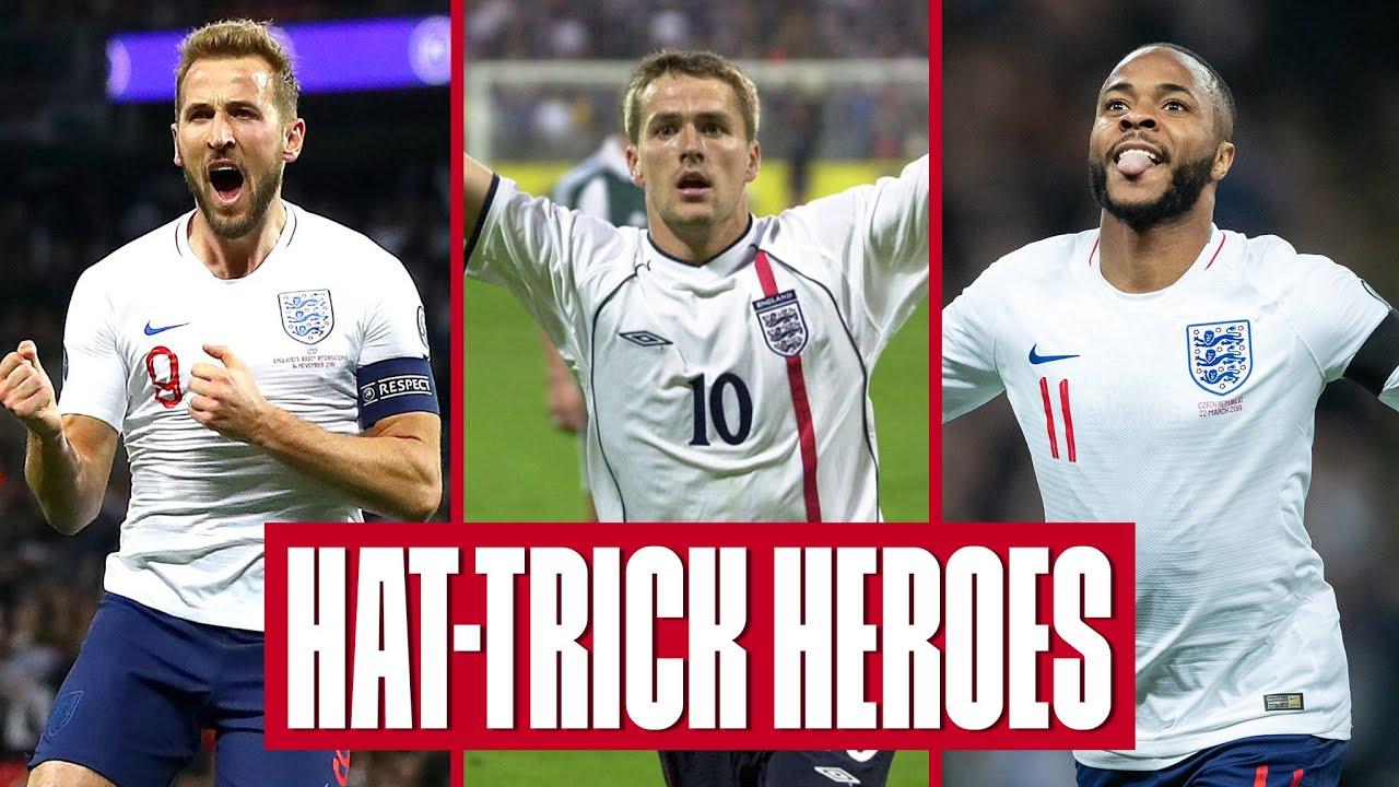 5 Great Hat-Tricks | Kane, Owen, Sterling | England