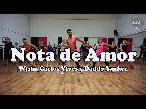 Nota de Amor Wisin, Carlos Vives y Daddy Yankee Zumba