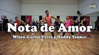Скачать Nota De Amor Wisin Carlos Vives Y Daddy Yankee Zumba