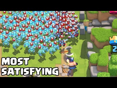 The Most Satisfying Video Ever in Clash Royale