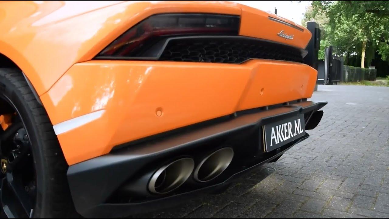 World S First Lamborghini Hurac 225 N W Loud Akrapovic