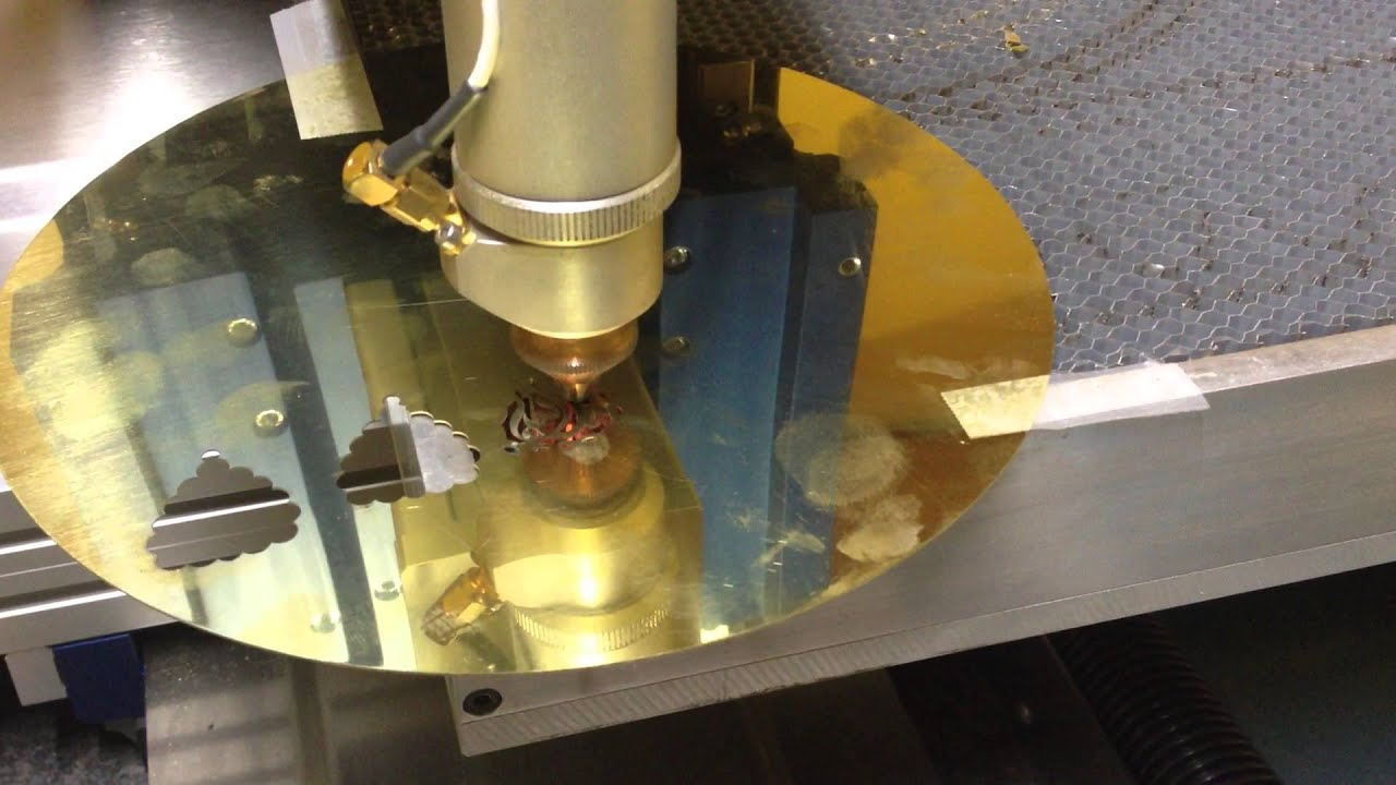 Bijouxtec Gold Metal Laser Cutting System Youtube