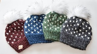 KNITTING FAIR ISLE HAT | CJ Design ♡