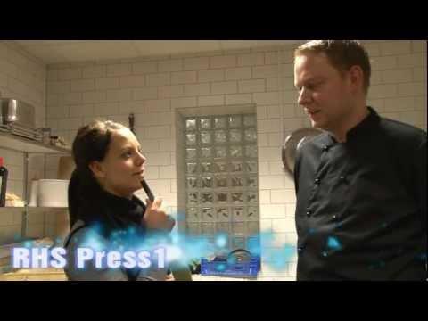 Interview med kokken på Roskilde handelskole. (Innovation camp)