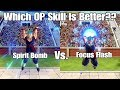 Xenoverse 2 Skill Test! Spirit Bomb Vs. Focus Flash Which OP Ki Skill Is Better?