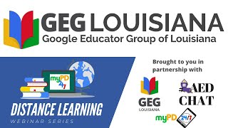 Virtual Field Trips & More! - Distance Learning Webinars with GEG Louisiana