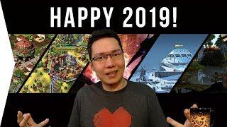 Happy 2019 ► New Year's Vlog - Recap & Goals!