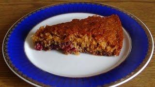 Быстрый, простой и вкусный пирог с вишней
