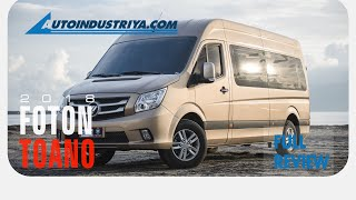 2018 Foton Toano 15-seater van - Full Review