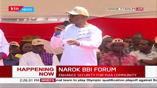Governor Ongwae joins the BBI team in Narok, asks Maa community to support the BBI report