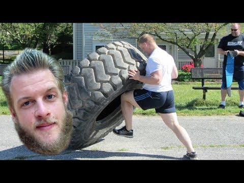 Training PRE-Untamed Strength - My Journey Into Strongman #TBT