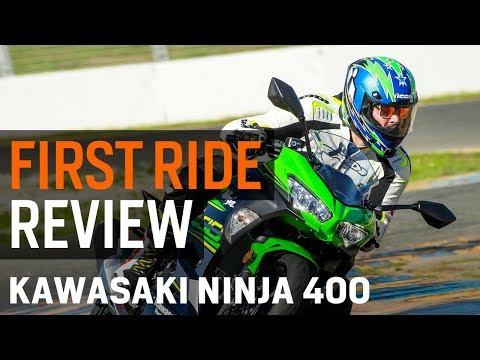 Kawasaki Ninja 400 First Ride Review at RevZilla.com