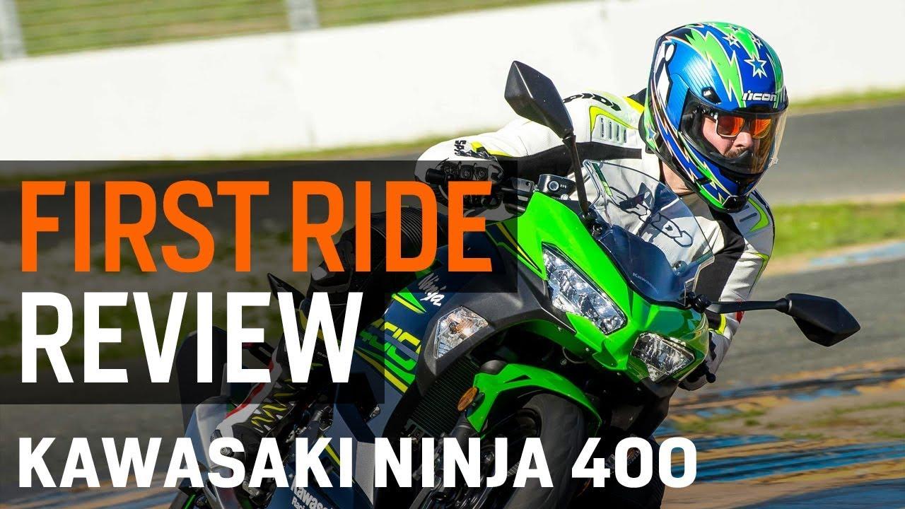 Kawasaki Ninja 400 First Ride Review At Revzillacom Youtube