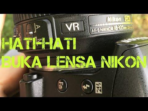 Cara Buka Lensa Nikon D3200