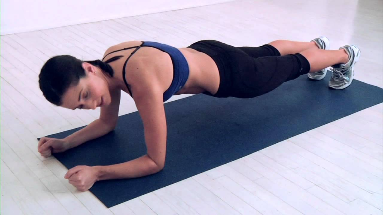 Plank with Leg Lift   Reveal Your Abs For Good   Women's Health