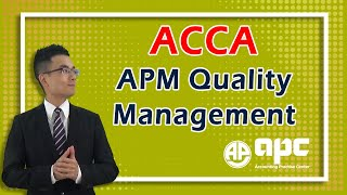 ACCA P5 Quality Management