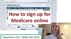 How to Enroll in Medicare Online