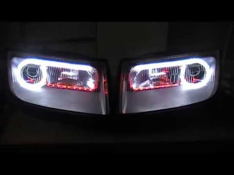 Nissan 300zx Headlights Switchback Drl S Indicators Youtube