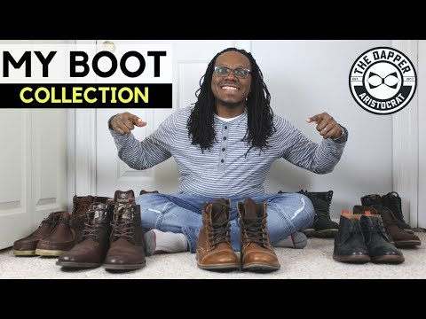 My Boot Collection | Boots Men Should Own for the Winter