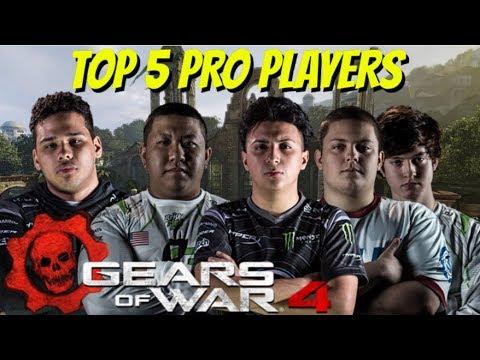 TOP 5 GEARS OF WAR 4 PLAYERS!