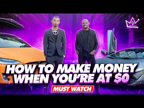 Two Millionaires Talk About How to Make Money When You're At $0.... TJ Millionaire Mentor &