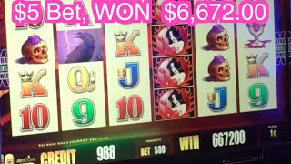 Wicked Winnings II w/Neighbor HAND PAY!! ✦Wonder 4 LIVE PLAY✦Cosmo Las Vegas Slot Machine