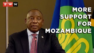 President Cyril Ramaphosa delivered his closing remarks at the SADC Troika Summit on 5 October 2021 where he mentioned that the SADC would continue to give its support to Mozambique, and also that it would continue to clamp down on acts of terrorism within the SADC region.  #CyrilRamaphosa #Mozambique #SADCTroikaSummit