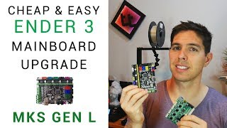 Easy and cheap Ender 3 mainboard upgrade: MKS Gen L guide