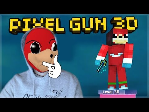 OMG! WE MET UGANDAN KNUCKLES IN 1V1 DUELS!! Pixel Gun 3D