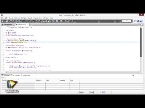 CGI-Programmierung mit Perl Tutorial: Datenübergabe an CGI-Programme |video2brain.com