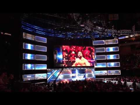 2017 SmackDown Live Opening KFC Yum Center, Louisville, KY