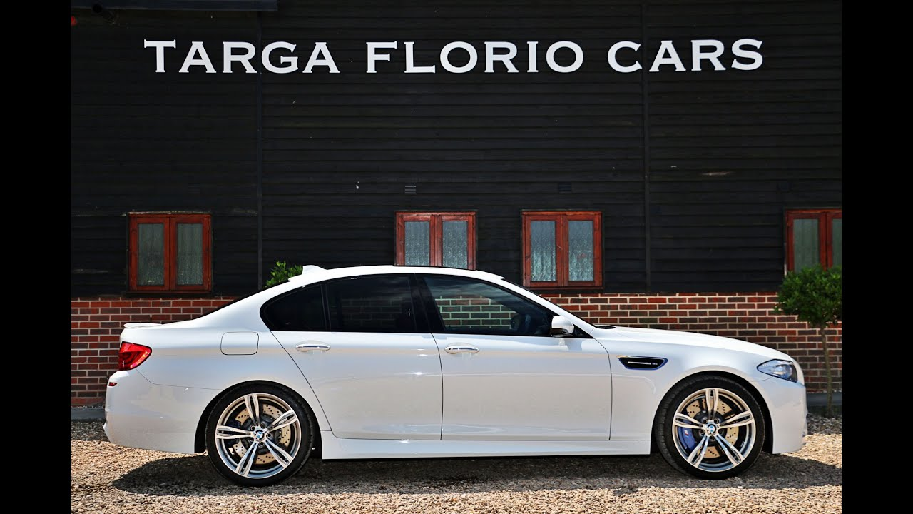 bmw m5 4 4l twin turbo 7 speed dual clutch transmission automatic for sale in alpine white. Black Bedroom Furniture Sets. Home Design Ideas