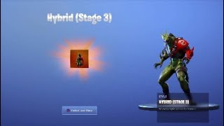 I *UNLOCKED* The HYBRID STAGE 3 in Fortnite...