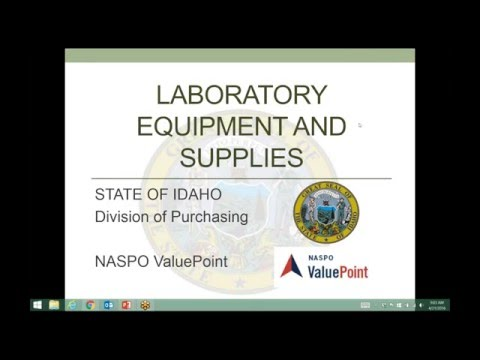 Laboratory Equipment And Supplies State Rollout Webinar