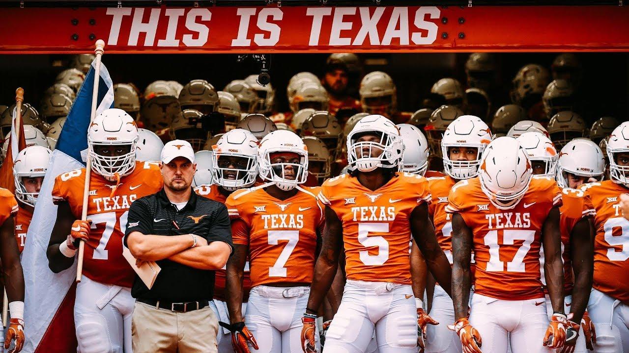 2018 Texas Longhorns Football Hype The RevolUTion